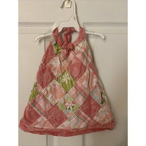 Janie And Jack 6-12 Months Pink Patchwork …